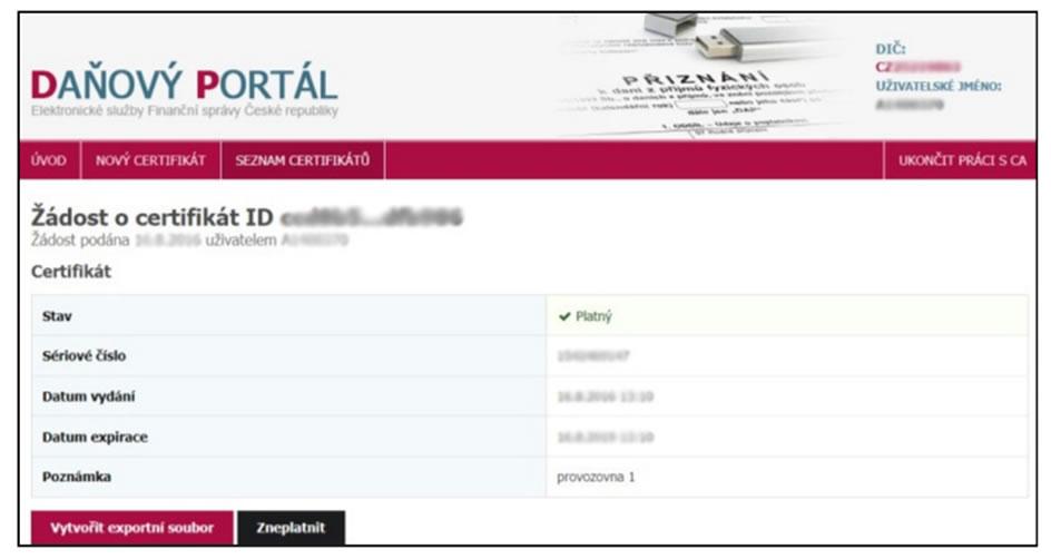 screenshot-eet-danovy-portal-stav-zadosti-o-certifikat