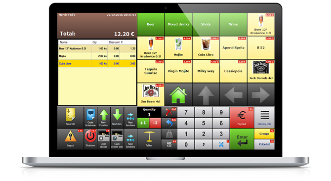XPOS cash register
