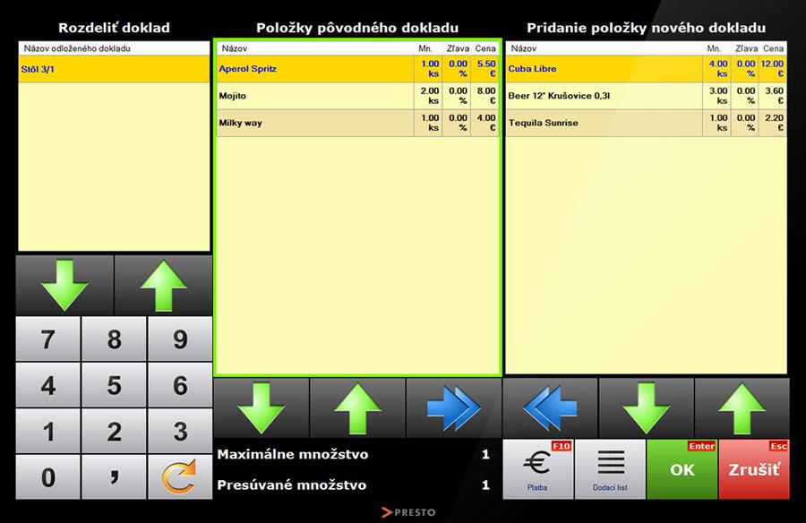 screenshot-registracna-pokladnica-rozdelovanie-dokladu