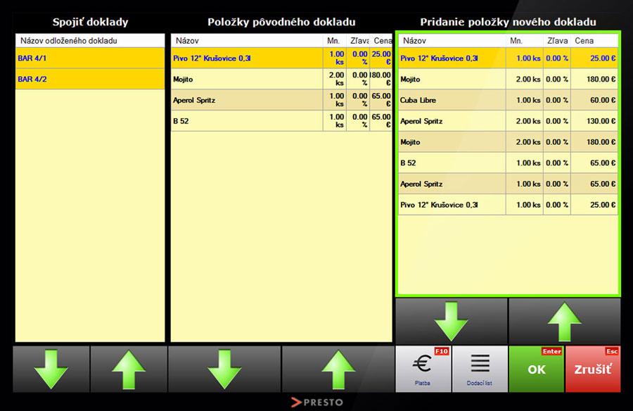 screenshot-registracna-pokladnica-spajanie-dokladov